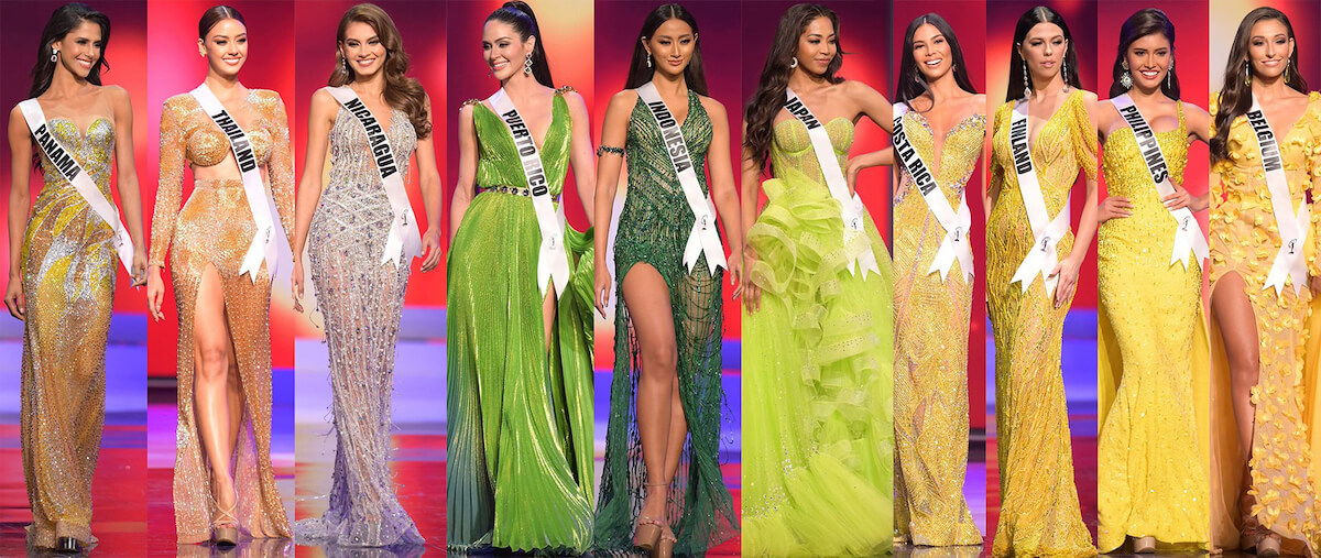 The Best Evening Gowns from the 2020 Miss Universe Prelims - Shop Similar Looks