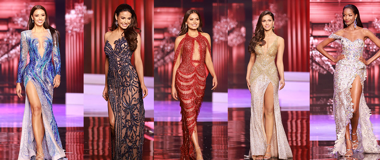 Recap: Evening Gowns of Top 10 Finalists and Miss Universe Winner