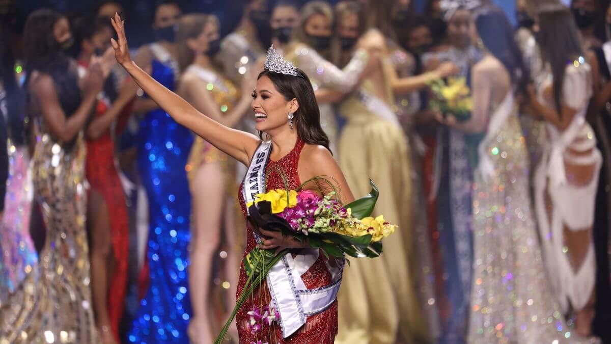 Mexico's Andrea Meza Wins Title of Miss Universe 2020