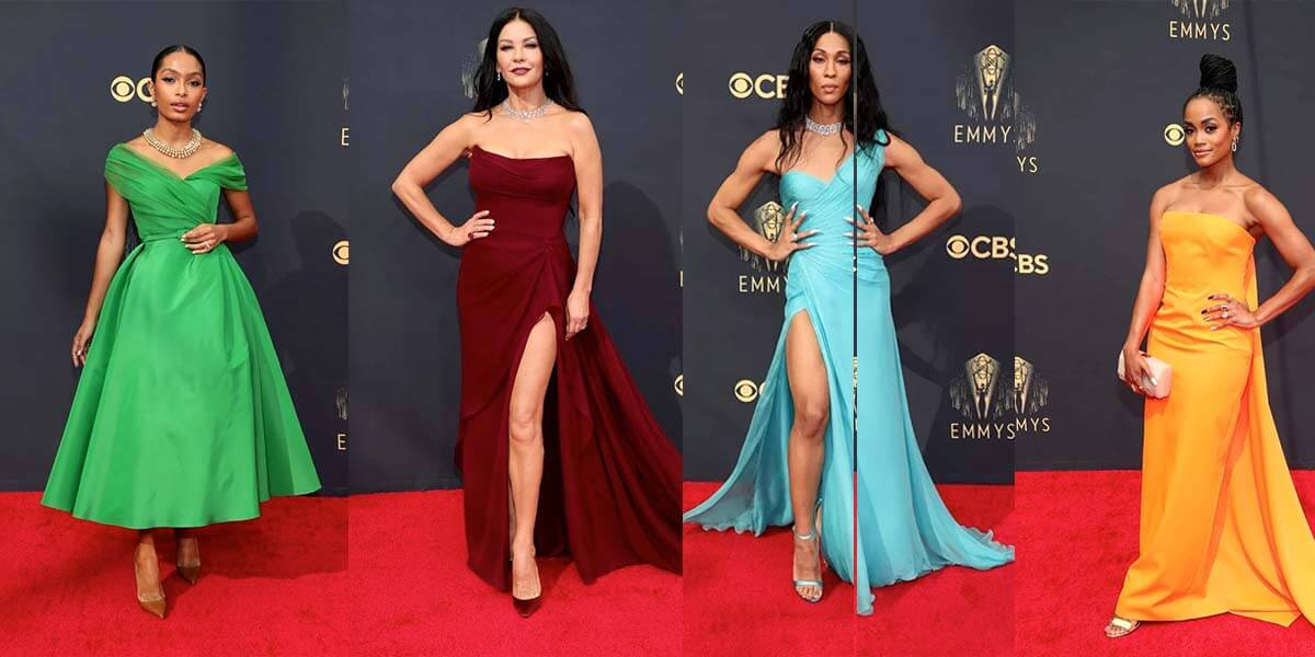 The Emmys 2021: Get The Look for Less of the Best Dressed