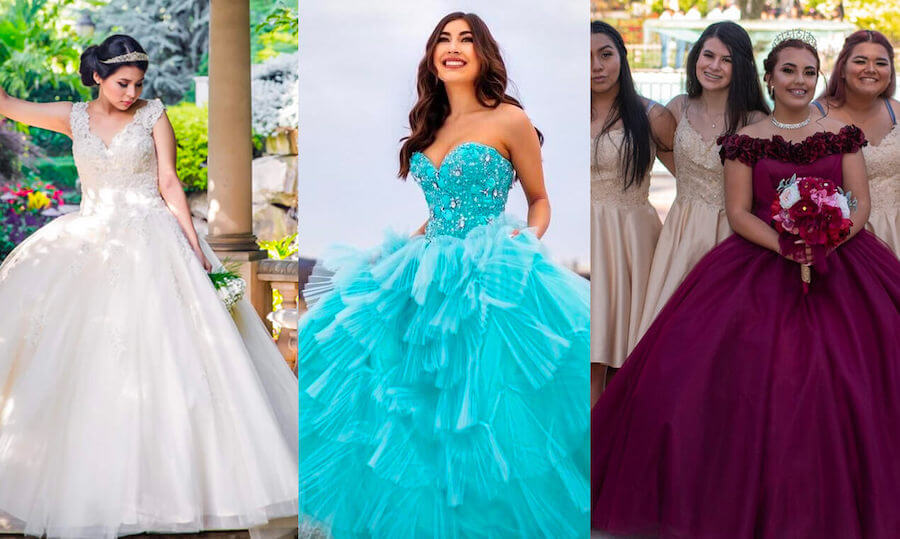 The Modern Day Quinceañera Celebration and Dresses