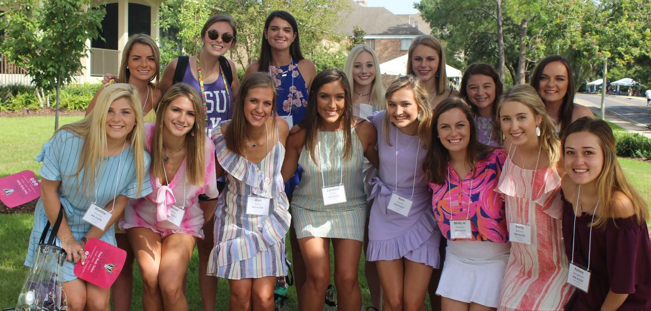 What To Wear For Sorority Recruitment Dresses and Outfits