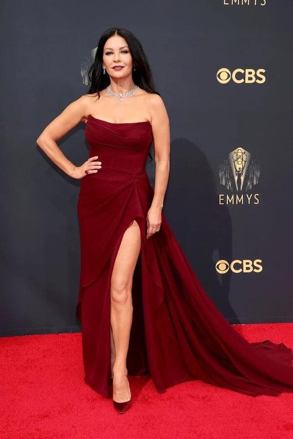 Catherine Zeta-Jones in Cristina Ottaviano
