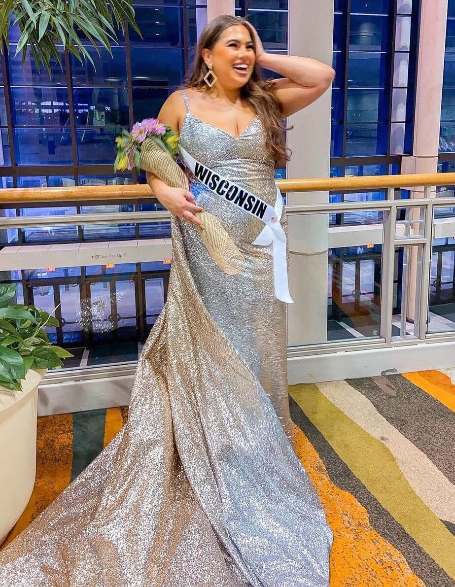 Emma Loney, on her gown by Filipino design label King of Queens Fashion And Design