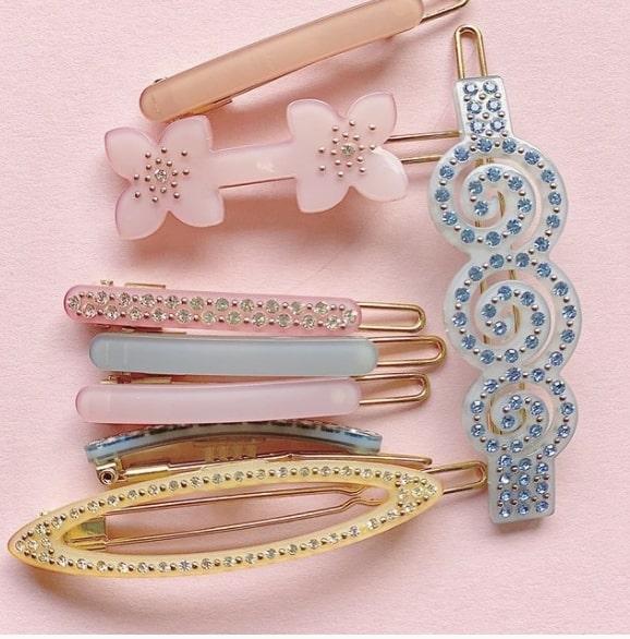 Some cute sorority hair accessories