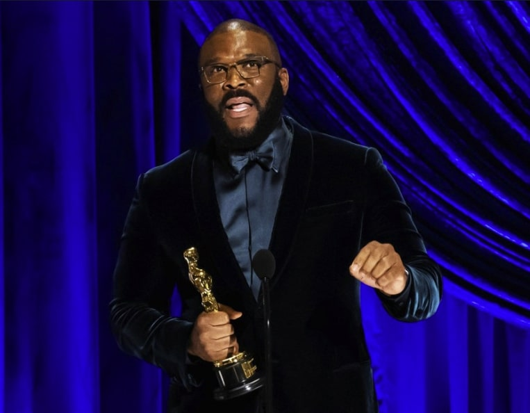 Tyler Perry at the 2021 Academy Awards