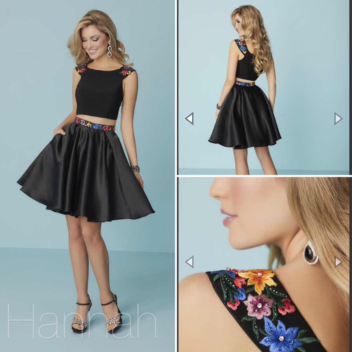 Hannah S Black Size 8 Homecoming Cocktail Dress on Queenly