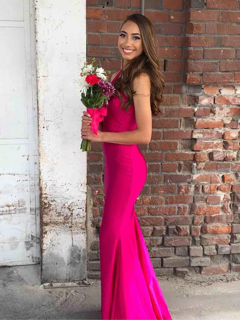 Jessica Angel Pink Size 0 Jessica Angel Mermaid Mermaid Dress on Queenly