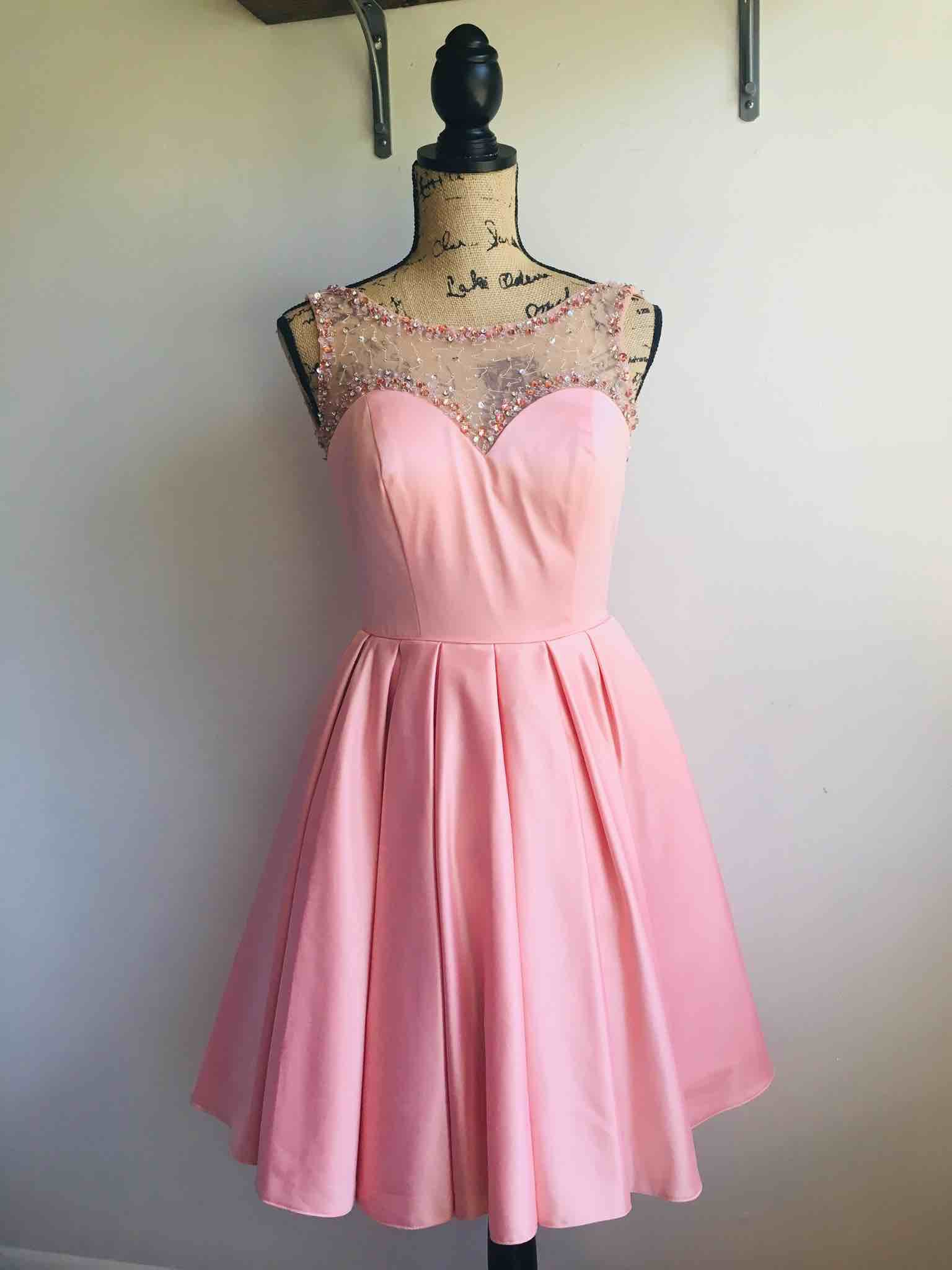 Sherri Hill Pink Size 6  on Queenly