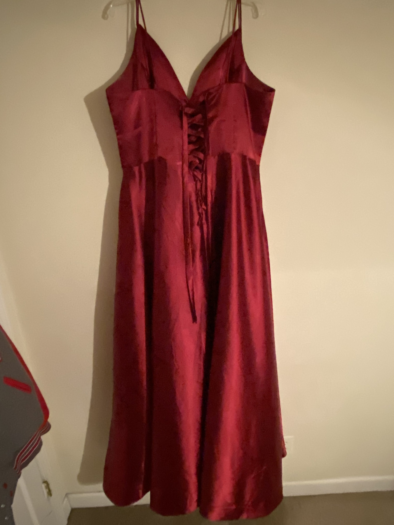 Red Size 22 Train Dress on Queenly