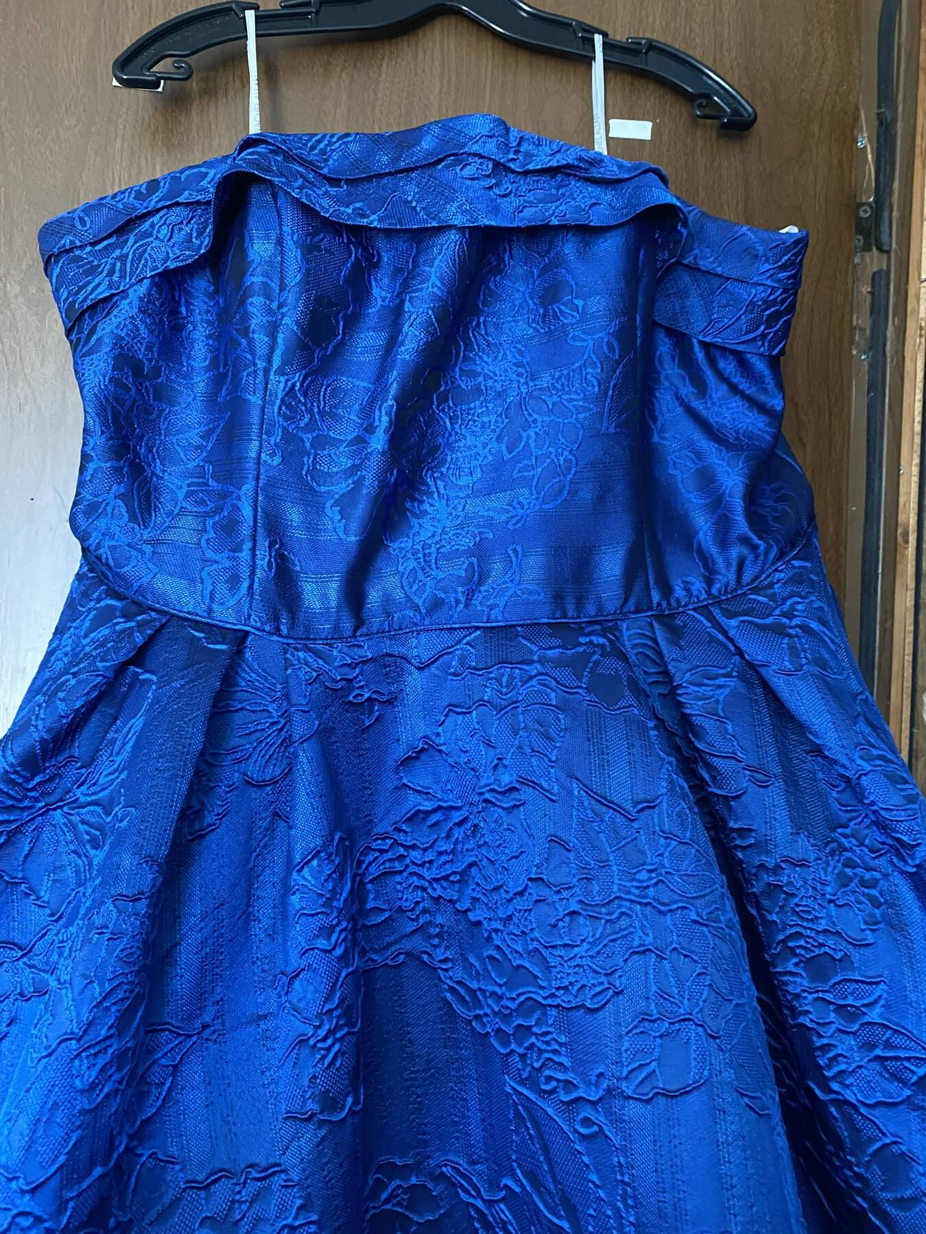 Rachel Allan Royal Blue Size 22 Prom Plus Size Ball gown on Queenly