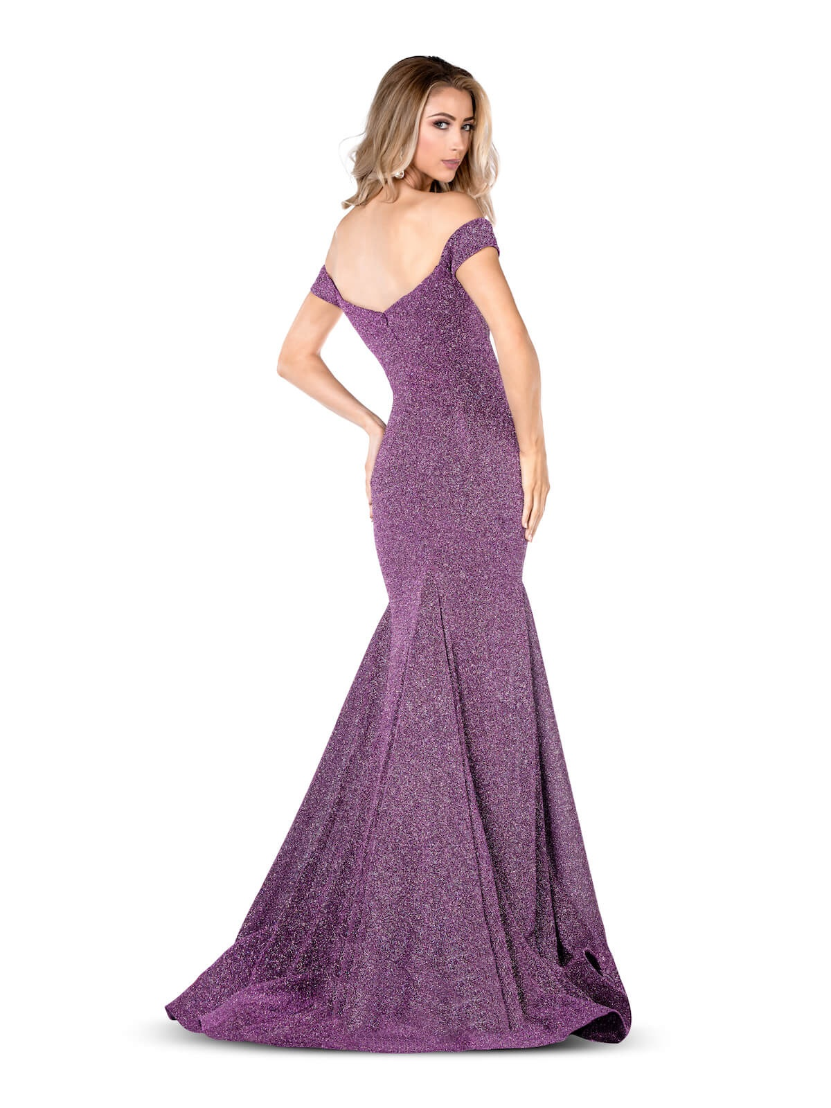 Vienna Purple Size 8 Tall Height Mermaid Dress on Queenly