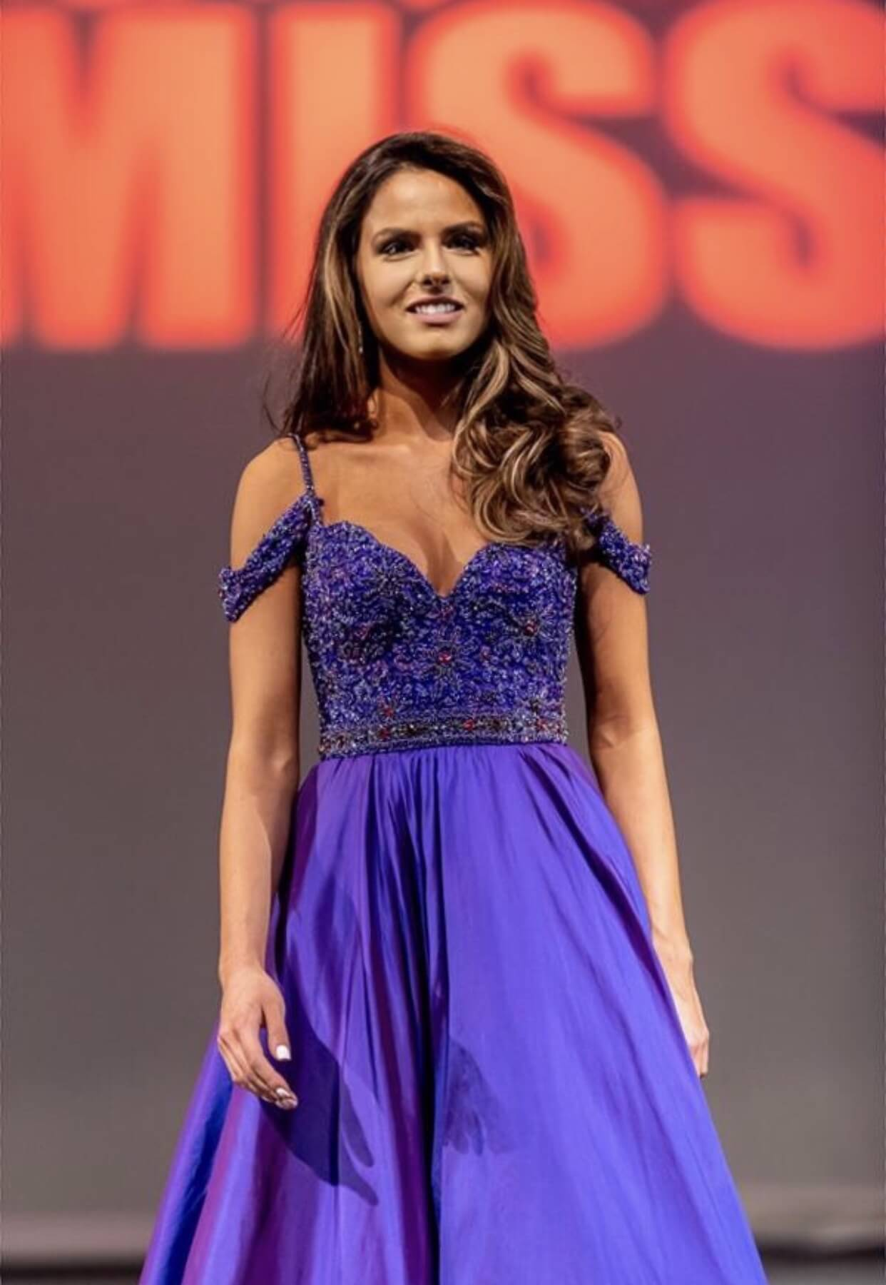 Sherri Hill Purple Size 2 Custom Prom Ball gown on Queenly