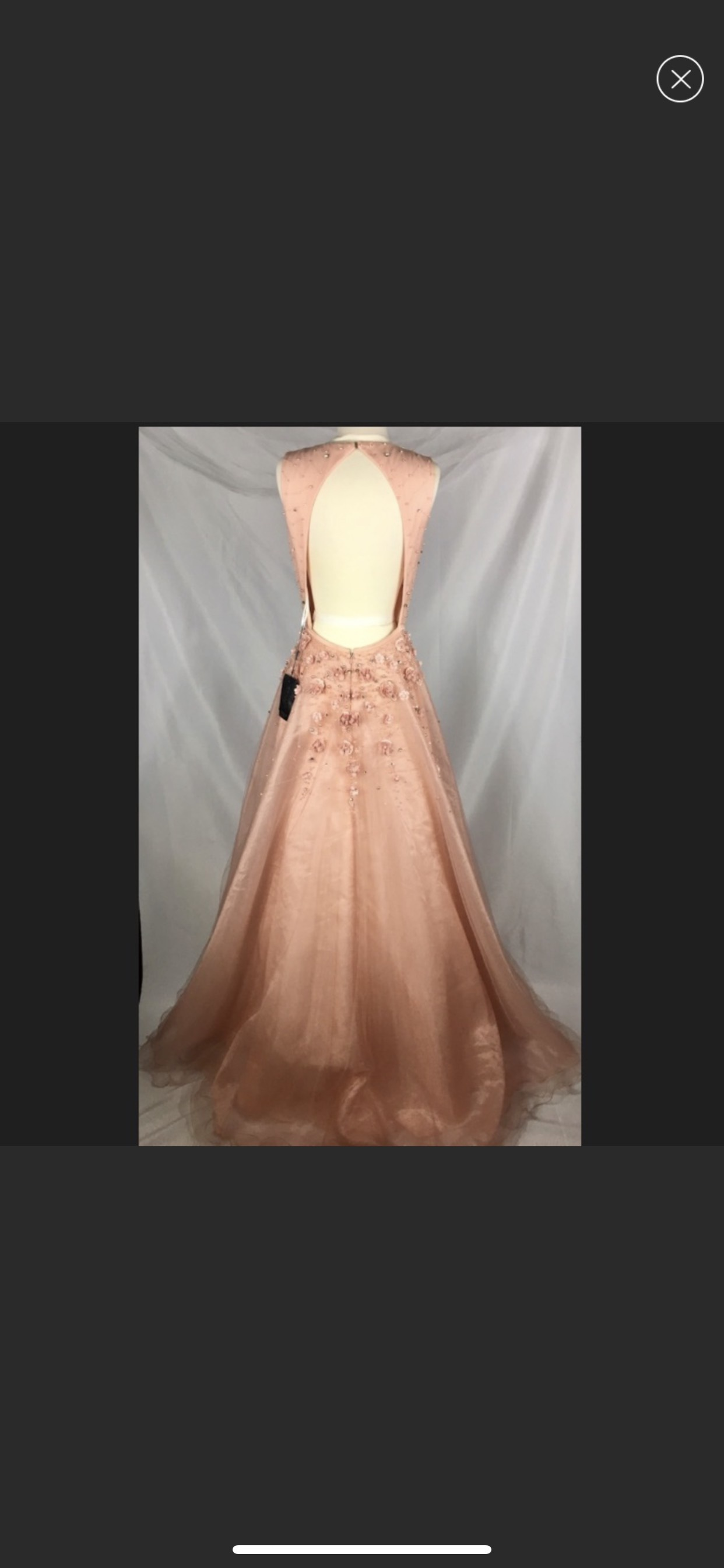 Terani Couture Orange Size 8 Floral Ball gown on Queenly