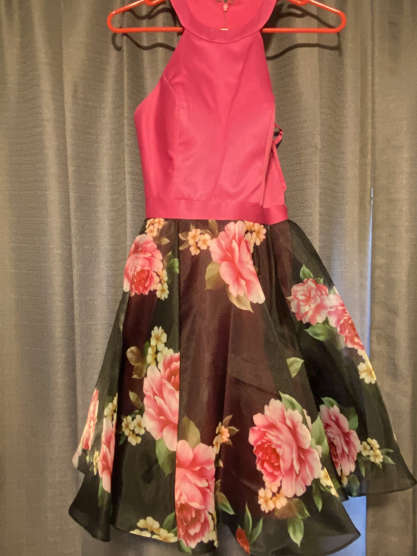 Madison James Pink Size 4 Homecoming Cocktail Dress on Queenly