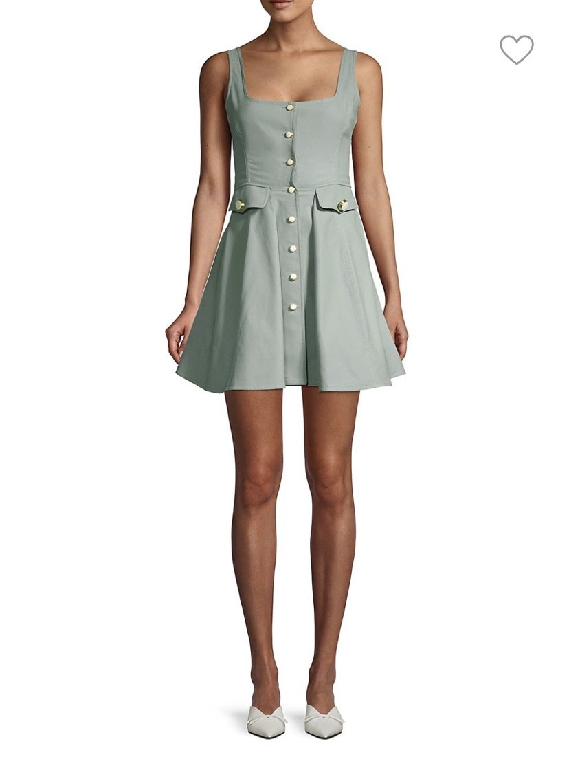 Alexis Green Size 2 A-line Dress on Queenly