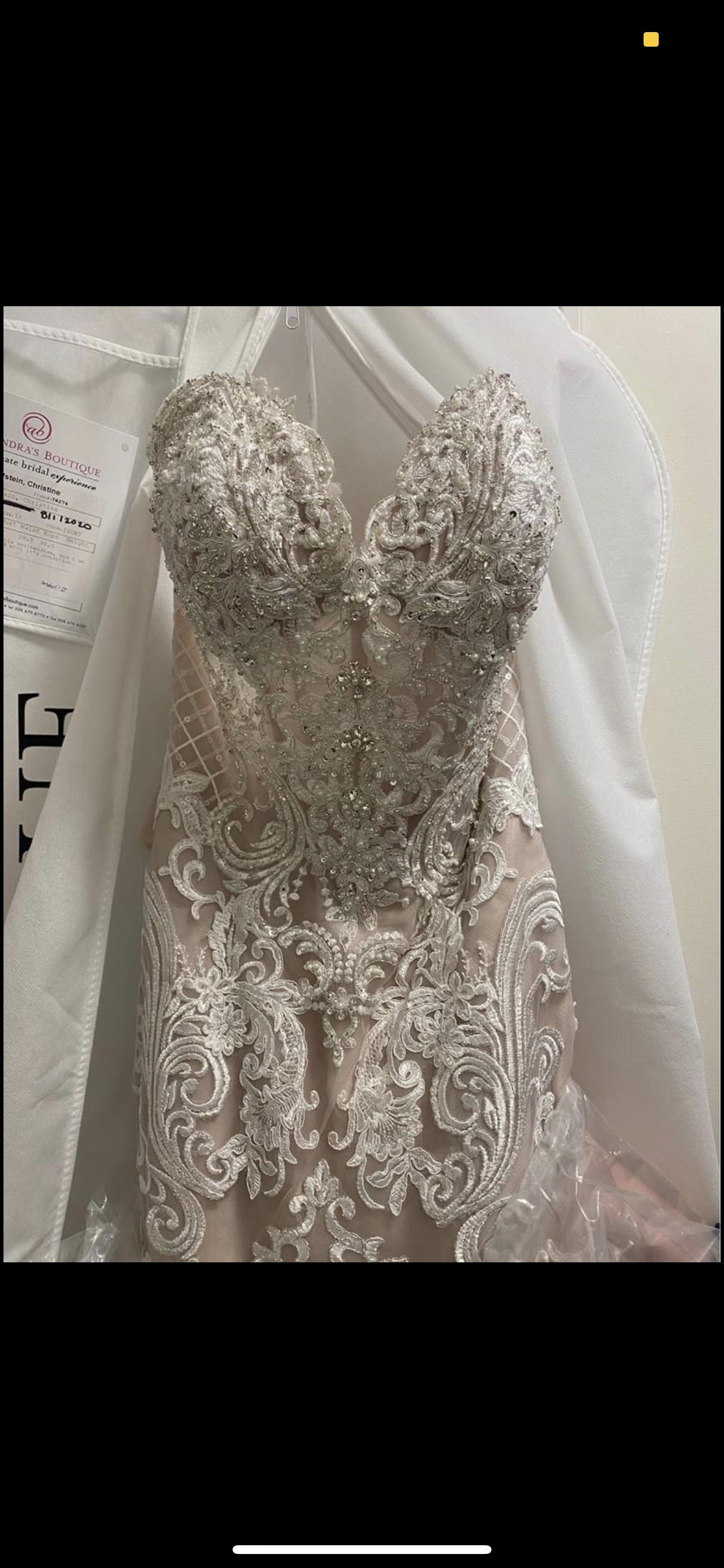 Nude Size 10 Train Dress on Queenly