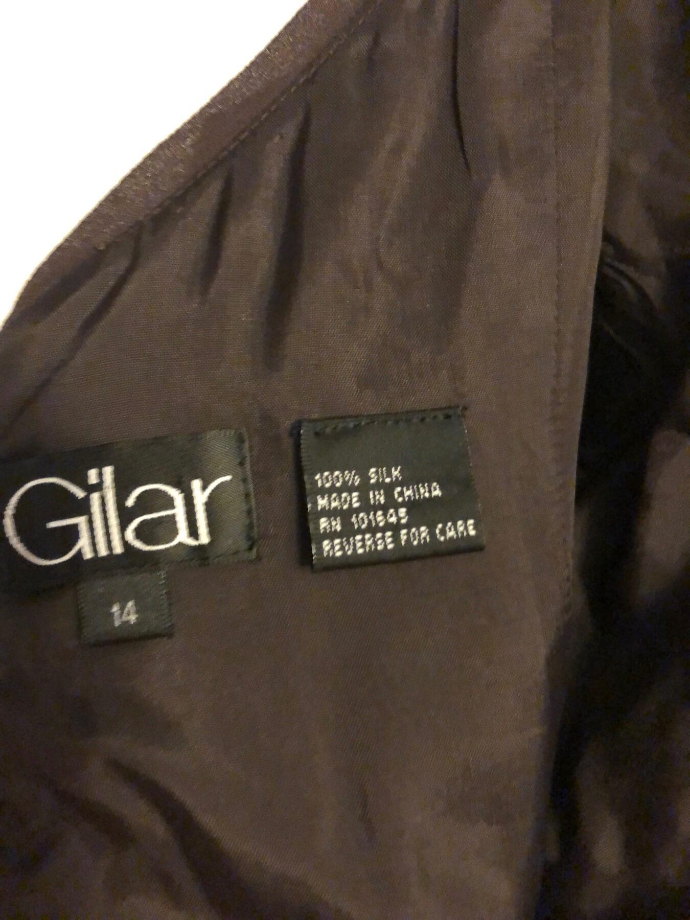 Gilar Black Size 14 Sorority Formal Wedding Guest Cocktail Dress on Queenly