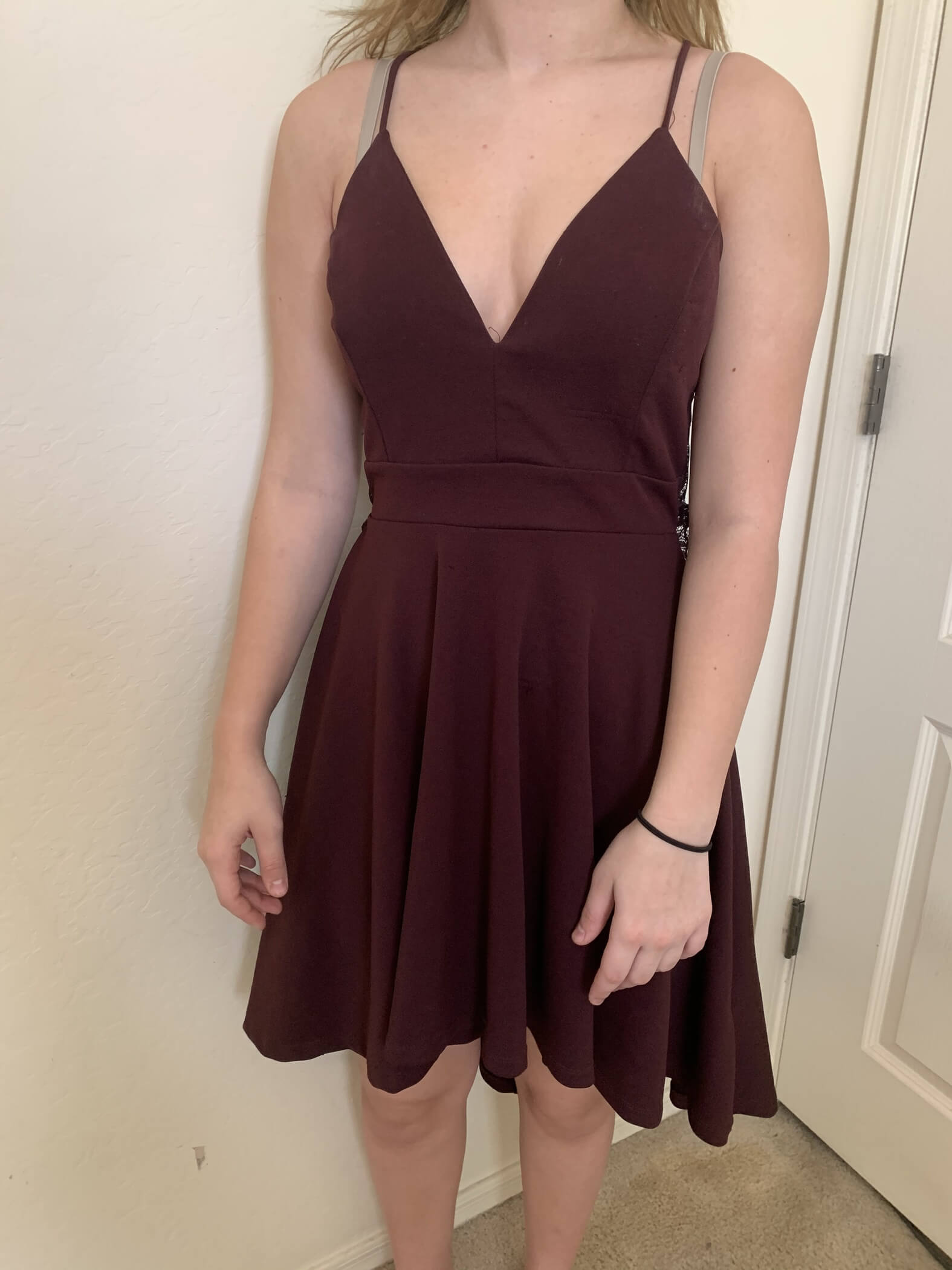 Purple Size 4 Cocktail Dress on Queenly