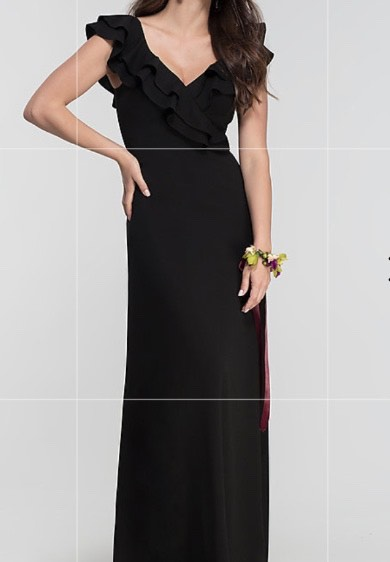 Black Size 22 Straight Dress on Queenly