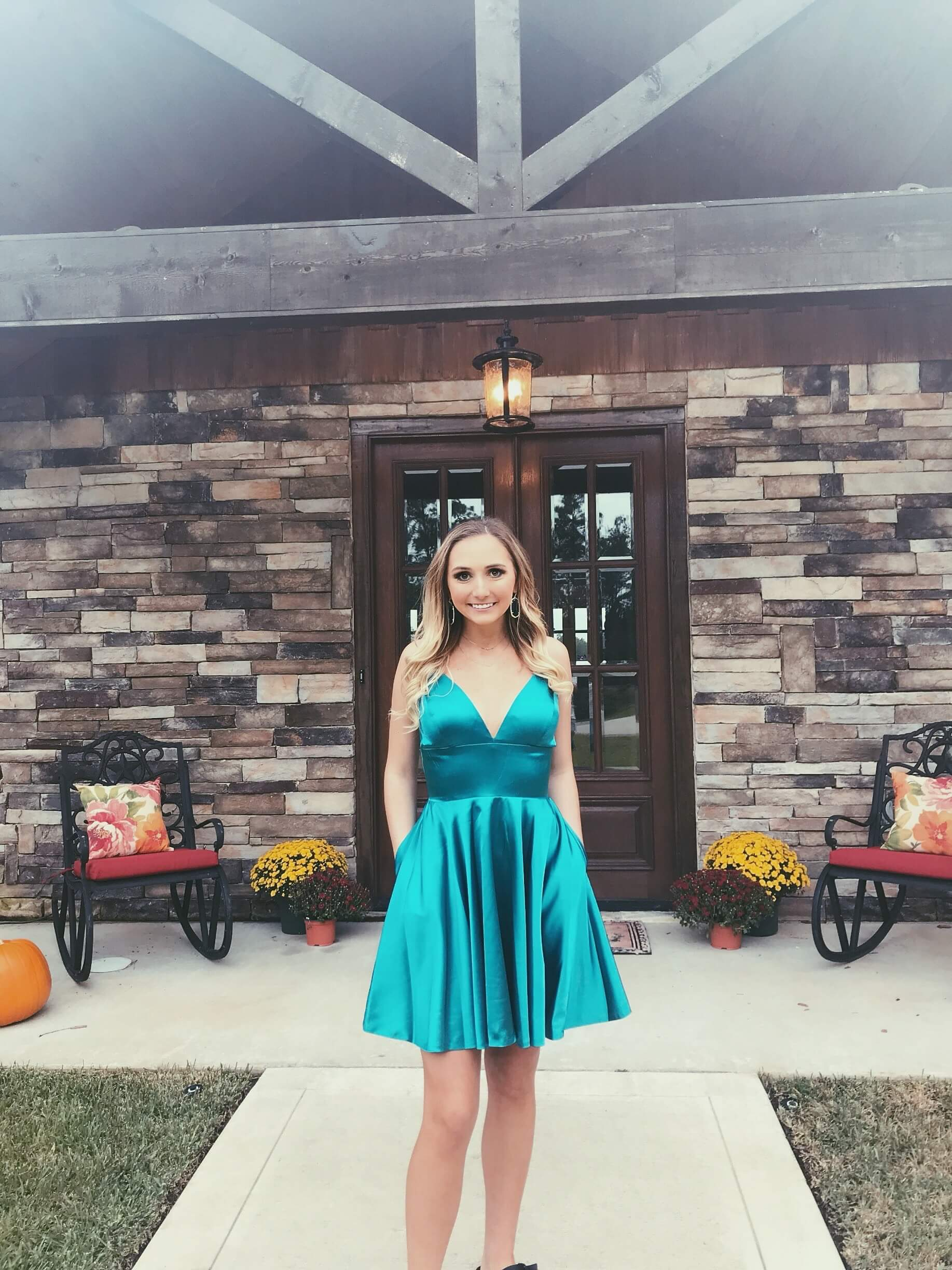 Sherri Hill Blue Size 2 Silk Ball gown on Queenly