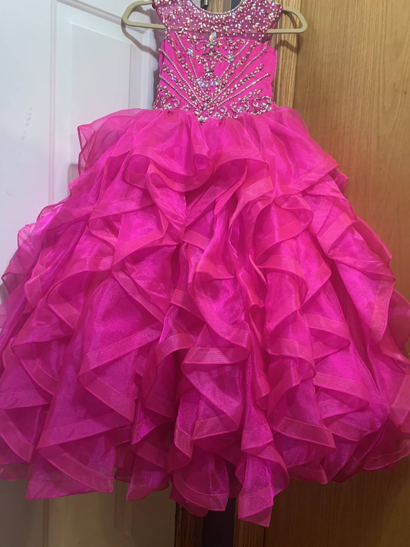 Ritzee Pink Size 6 Ball gown on Queenly