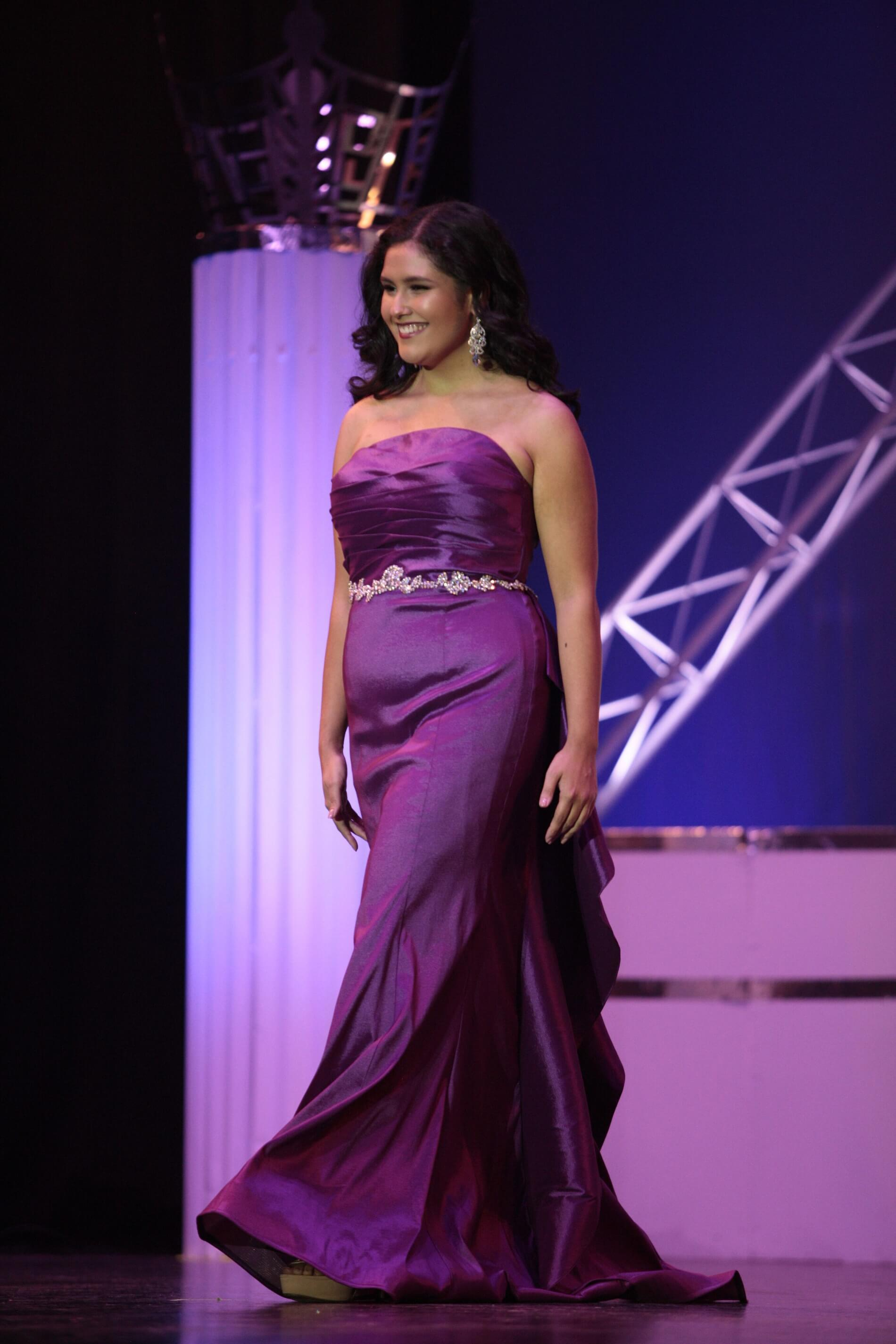 Purple Size 12 Mermaid Dress on Queenly