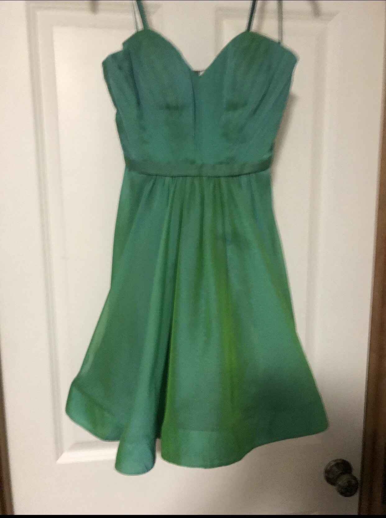 La Femme Green Size 2 Tall Height Cocktail Dress on Queenly
