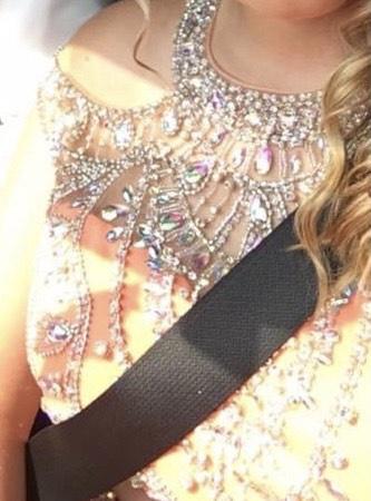Orange Size 14 Side slit Dress on Queenly