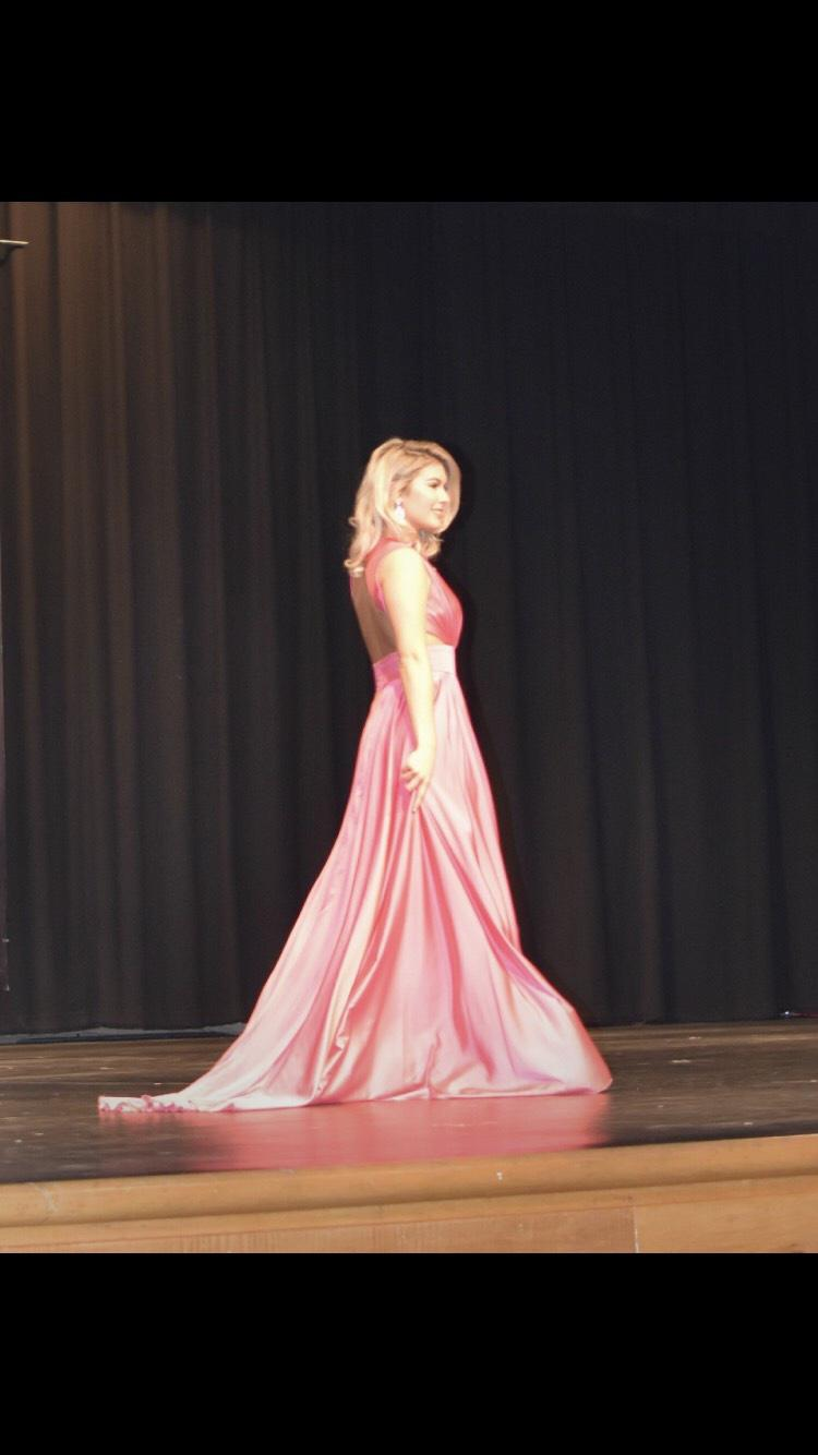 Johnathan Kayne Pink Size 4 Backless Tall Height Train Dress on Queenly