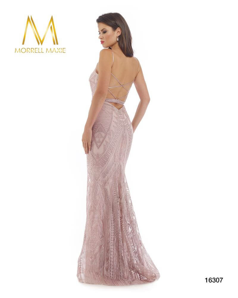 Style 16307 Morrell Maxie Pink Size 8 Backless Tall Height Mermaid Dress on Queenly