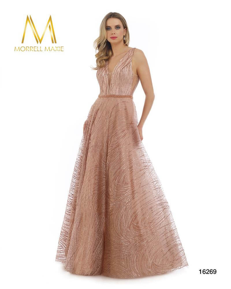 Style 16269 Morrell Maxie Pink Size 18 Backless Tall Height Ball gown on Queenly
