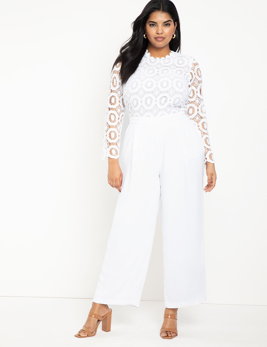 White Size 16 Romper/Jumpsuit Dress on Queenly