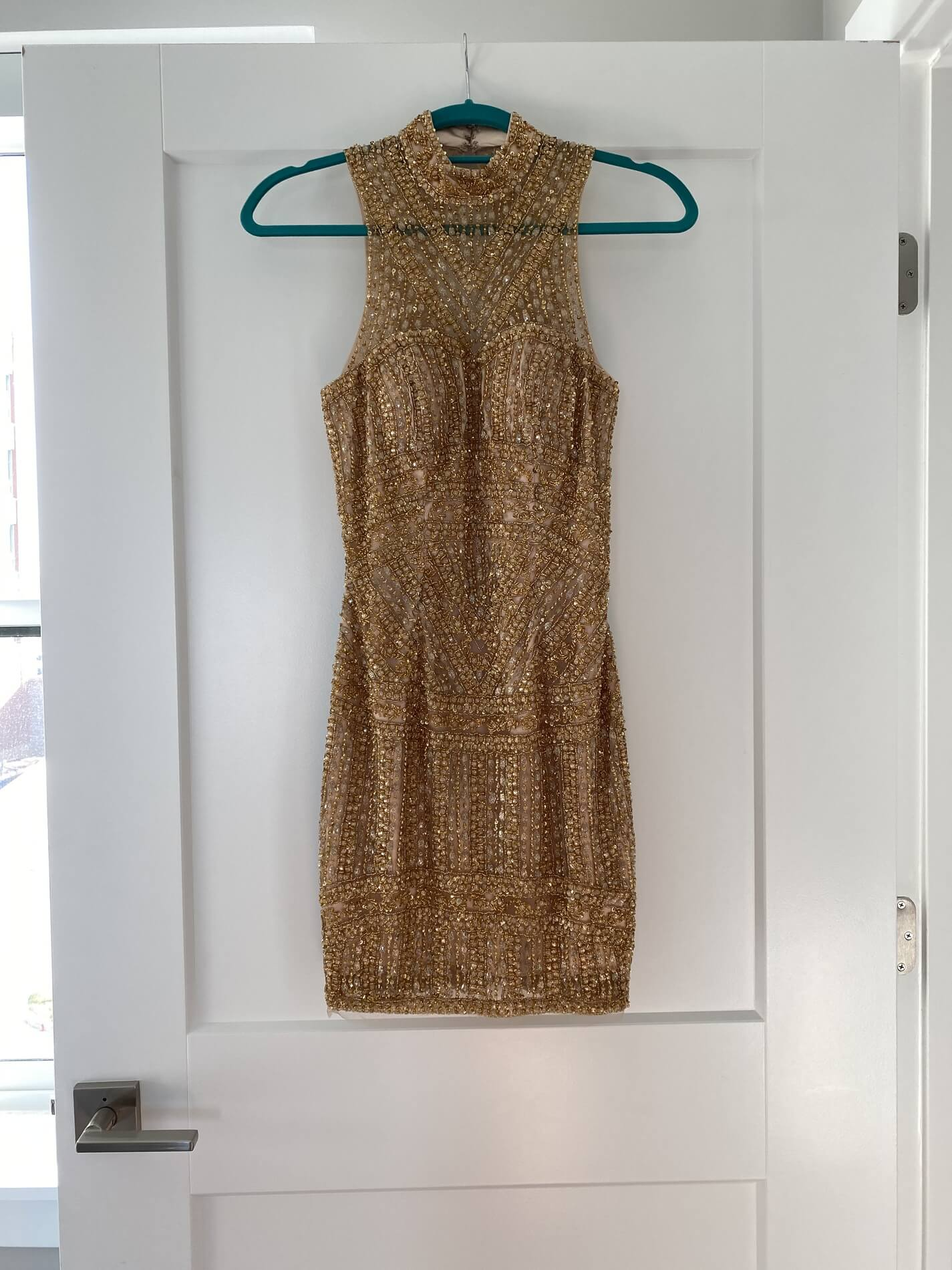 Gold Size 00 Cocktail Dress on Queenly