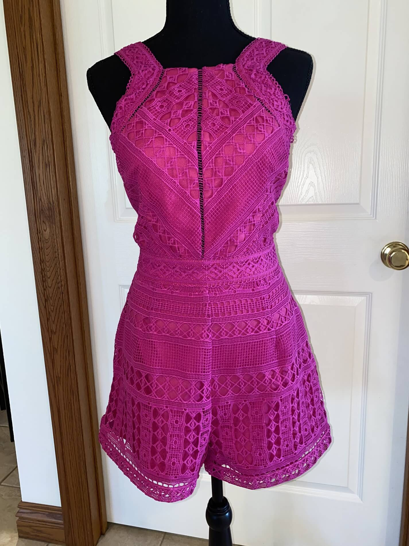 Adelyn Rae Pink Size 2 Romper/jumpsuit Cocktail Dress on Queenly