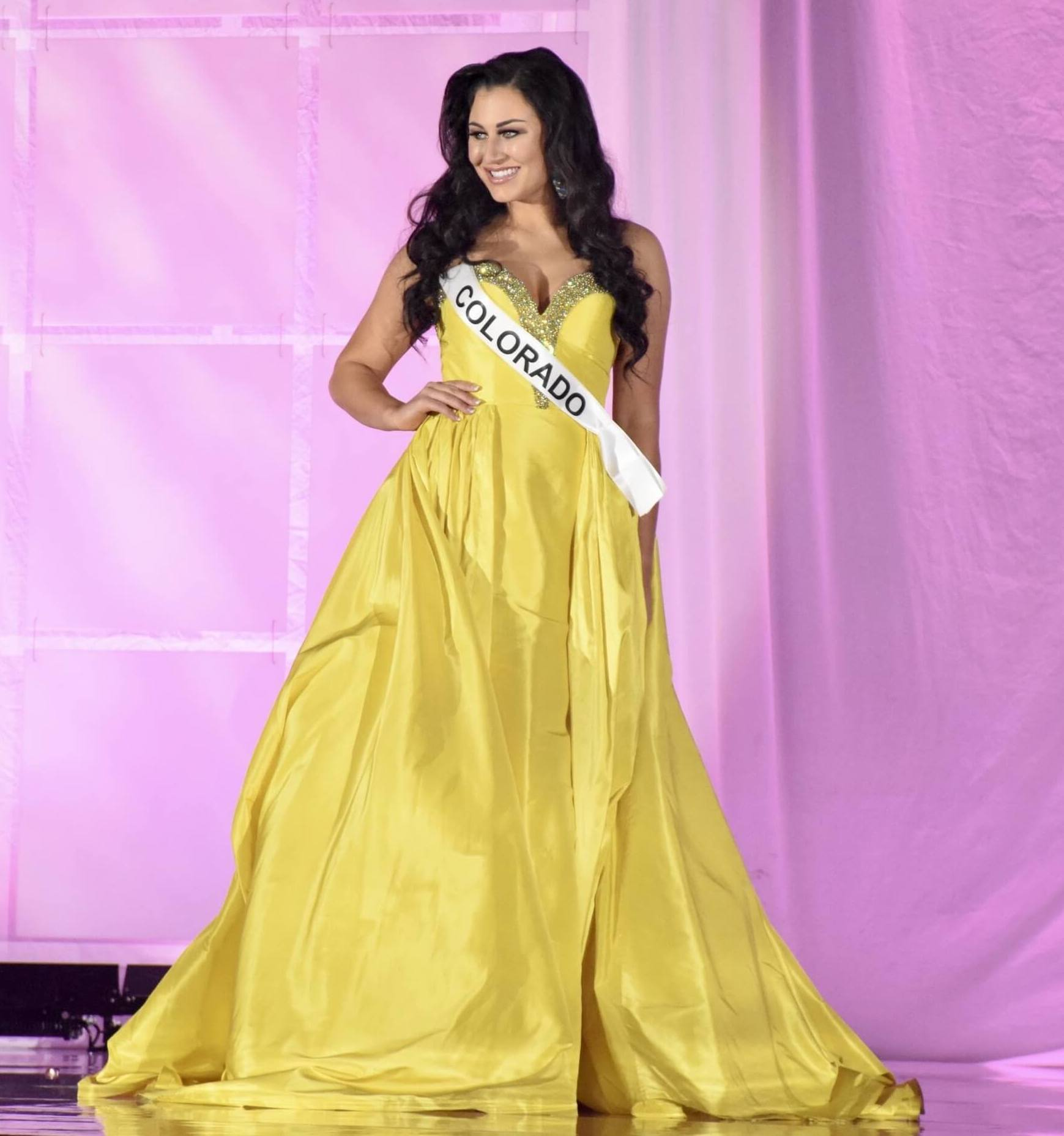 Yellow Size 12 Ball gown on Queenly