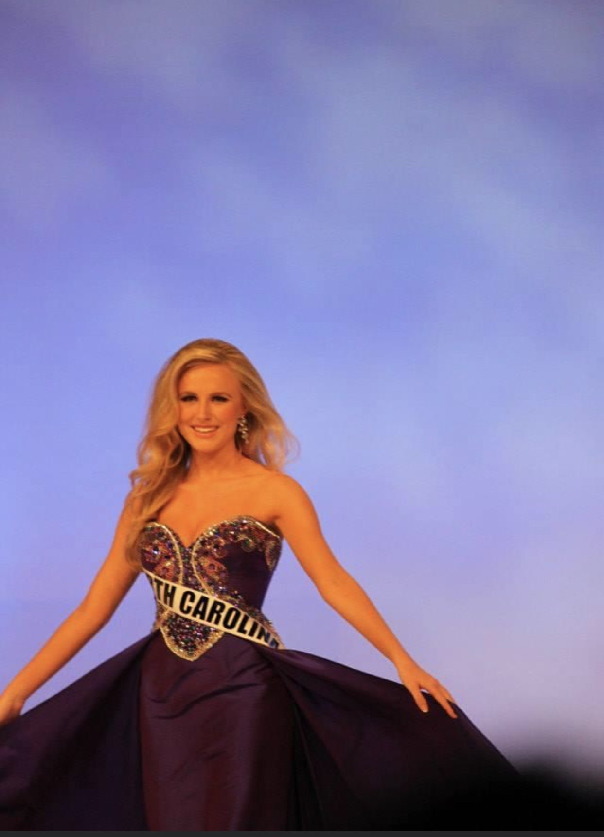 Sherri Hill Purple Size 6 Jewelled Sweetheart Tall Height Train Dress on Queenly