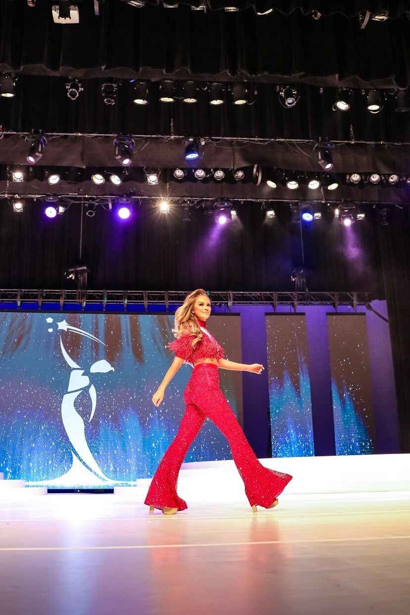 Ashley Lauren Red Size 4 Fringe Custom Jumpsuit Dress on Queenly