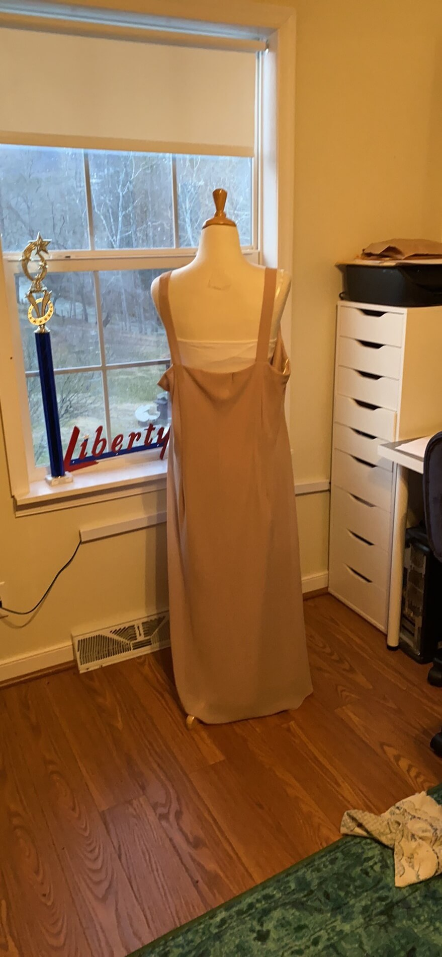 R&M Richards Pink Size 22 Plus Size Wedding Guest Cocktail Dress on Queenly