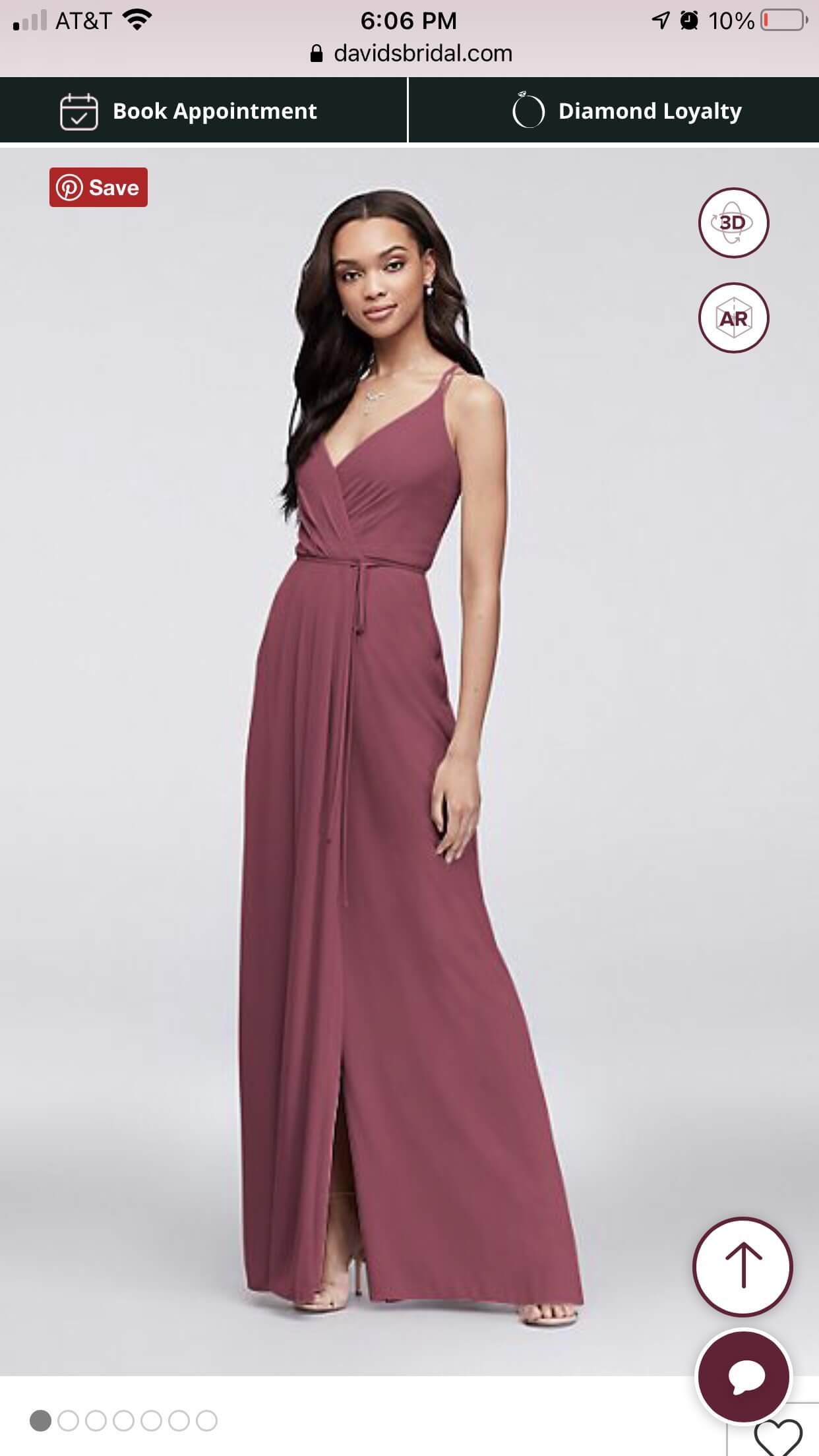David's Bridal Red Size 4 Wedding Guest A-line Dress on Queenly