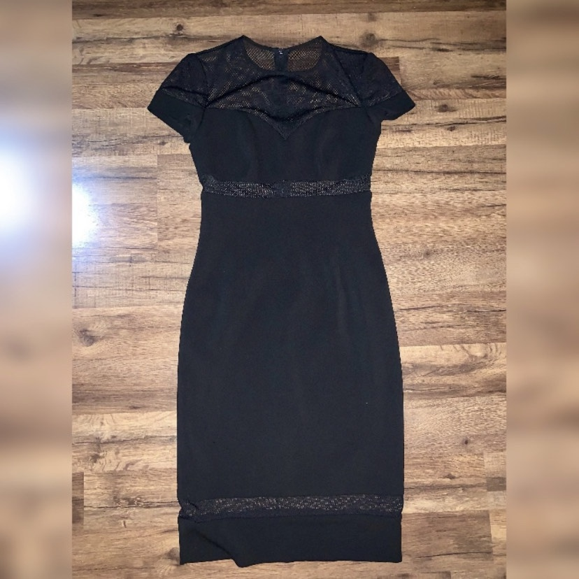 Jay Godfrey Black Size 2 Sorority Formal Cocktail Dress on Queenly