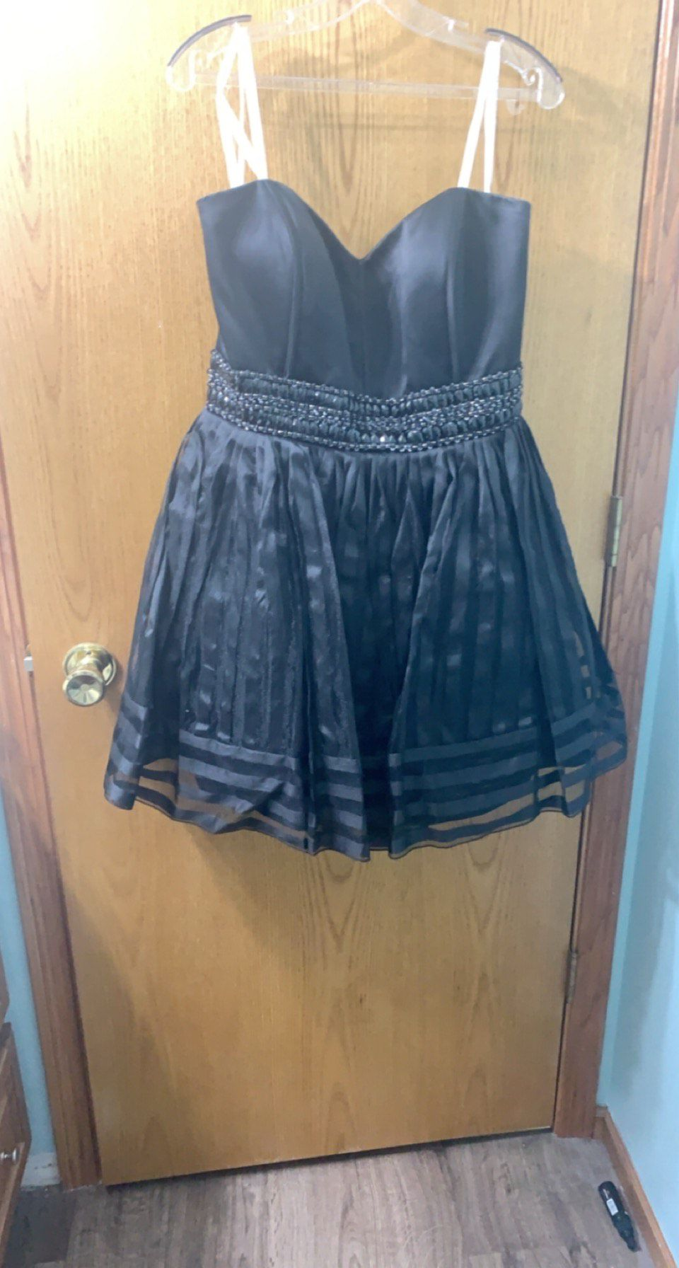 Black Size 18 Ball gown on Queenly