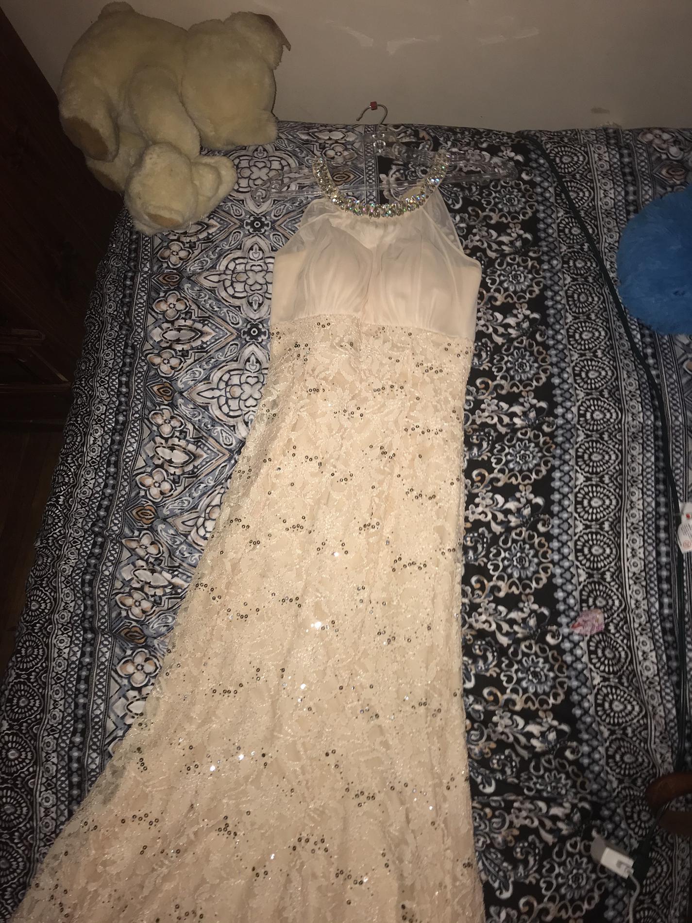 Orange Size 6 Mermaid Dress on Queenly