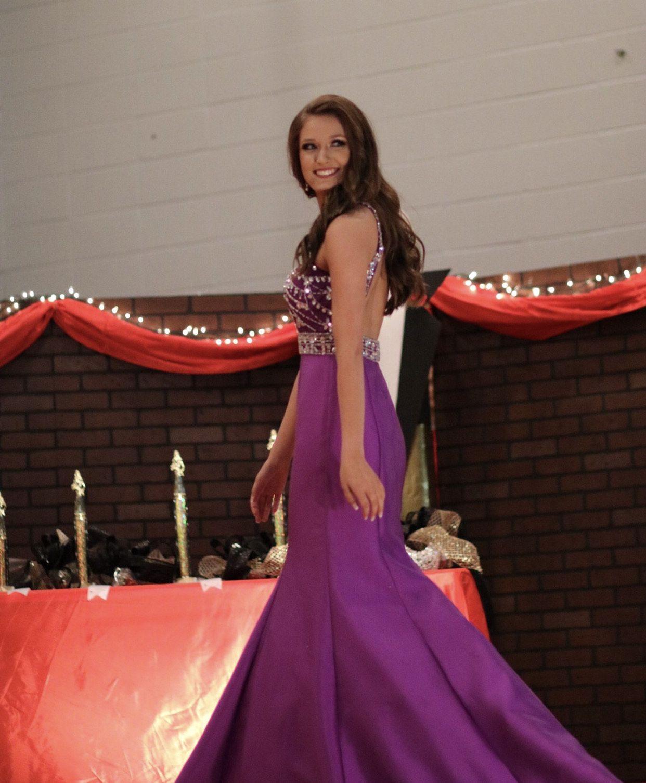 Rachel Allan Purple Size 2 Prom Pageant Jewelled Mermaid Dress on Queenly