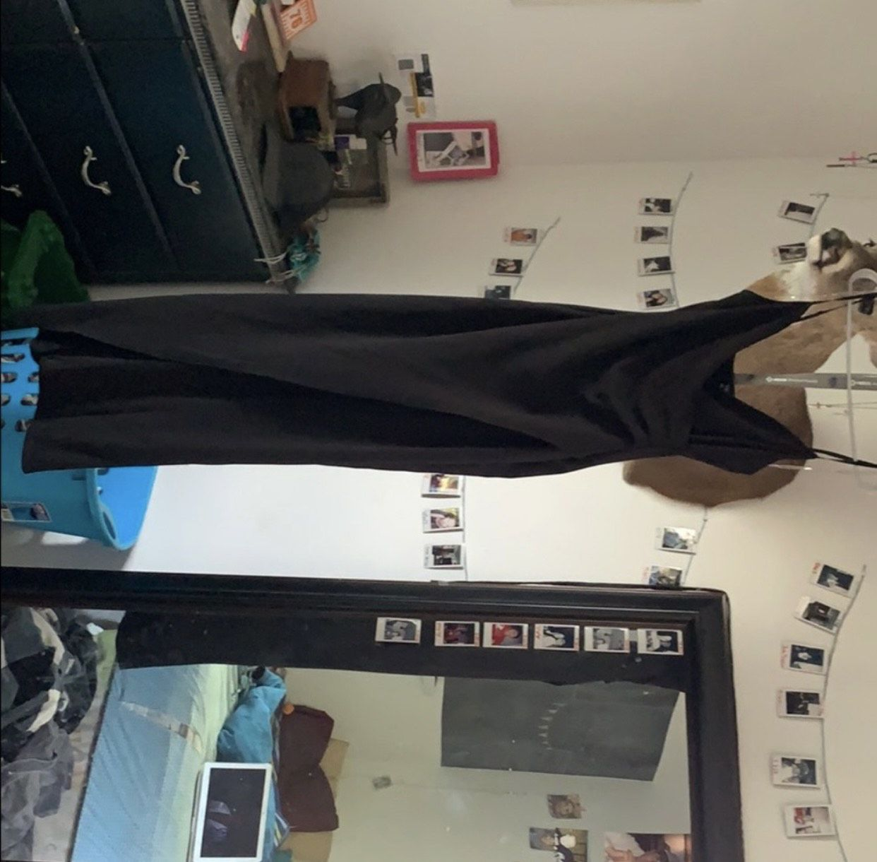 Windsor Black Size 6 Prom Straight Dress on Queenly
