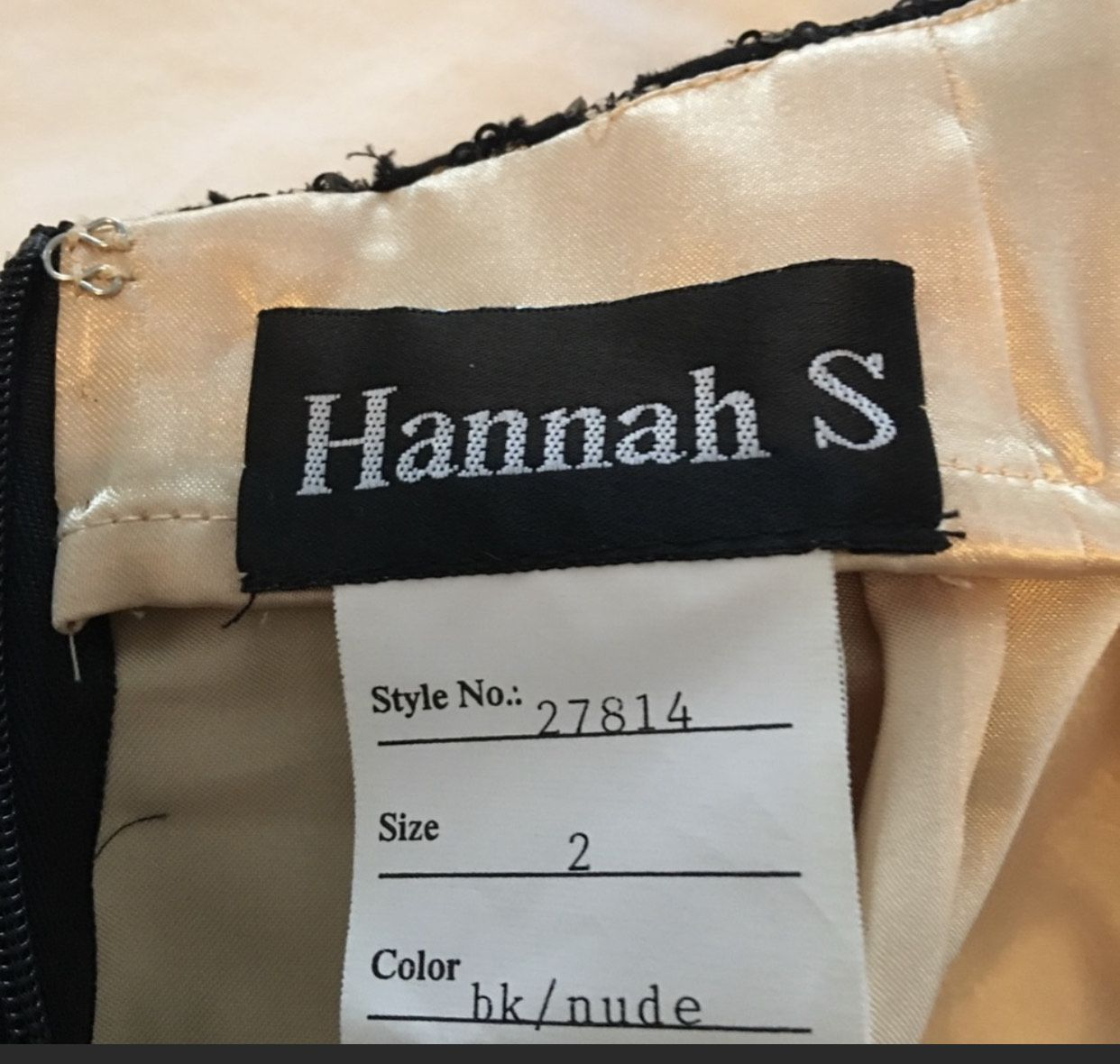 Hanna Black Size 2 Sorority Formal Lace Cocktail Dress on Queenly