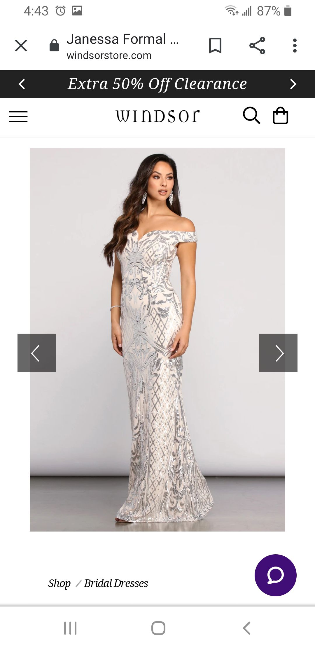 Silver Size 10 Cocktail Dress on Queenly