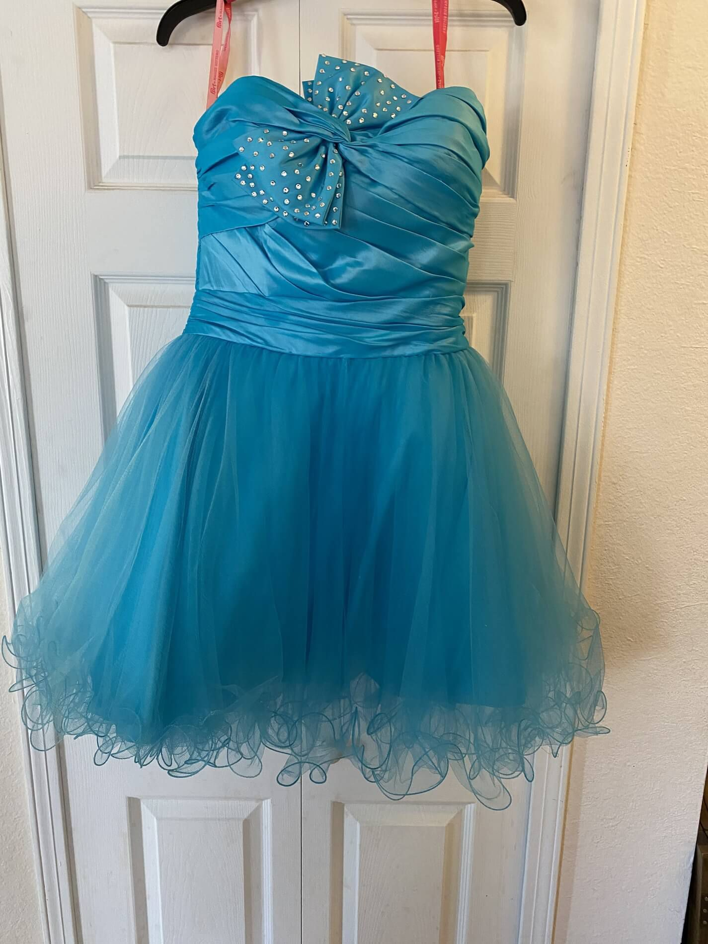 Blue Size 12 Cocktail Dress on Queenly