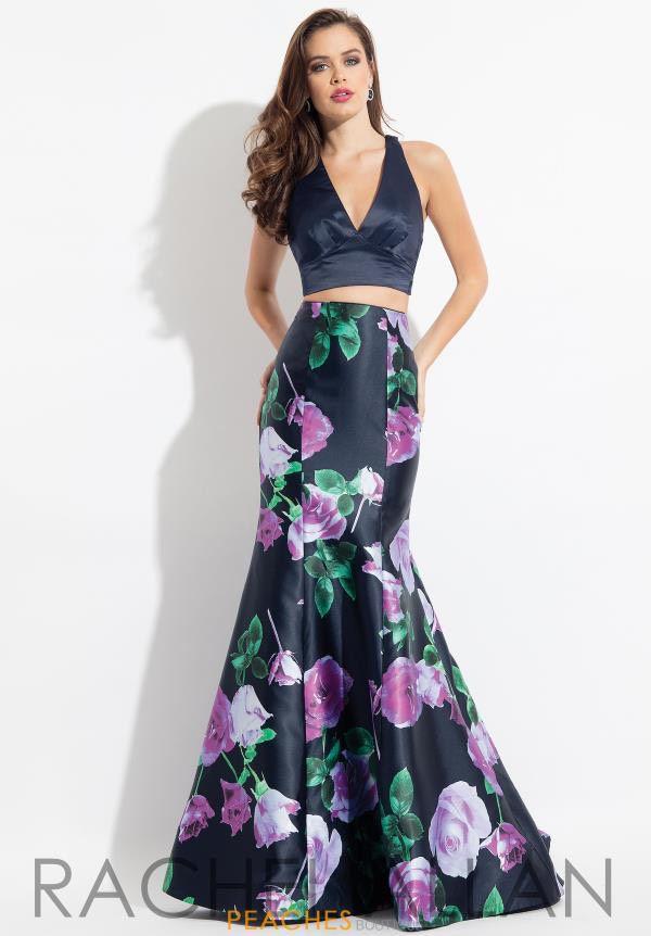 Rachel Allan Blue Size 4 Halter Rachael Allan Tall Height Mermaid Dress on Queenly