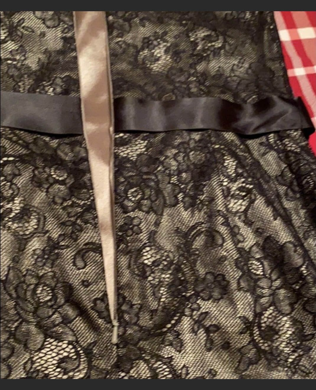 Jessica McClintock Black Size 10 Homecoming Lace Cocktail Dress on Queenly